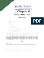 Chapter 6 - Bond Valuation