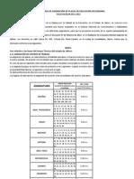 4ta Convocatoria Sec Und Arias 2011-2012 Sec Und Arias 2011-2012 4