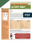 REFRIGERATOR ACTIVITY SHEET FOR CHILDREN