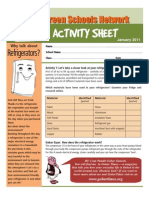 REFRIGERATOR ACTIVITY SHEET FOR CHILDREN