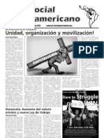 `Foro Social Latinamericano', Green Left Weekly's Spanish-language supplement, May 2012 issue