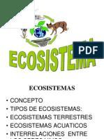 Ecosistemas...