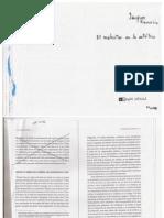 RANCIÉRE, J (2012) El malestar en la estética, Buenos Aires, Capital intelectual, pp. 110-132