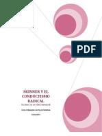 Skinner y El Conductismo Radical Imprimir 2012