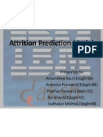 Predictive Attrition Model