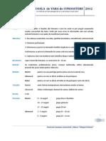 Sinteza Informatii Practice SDV 2012