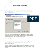 FileZilla Server Setup
