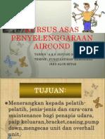 Kursus Asas Penyelenggaraan Aircond