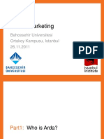 Mobile Marketing Arda Kertmelioglu 26.11.11