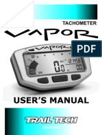 Vapour Digital Dash