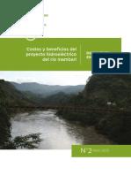 Costos y Beneficios Proyecto de la Central Hidroeléctrica de Inambari