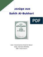 Auszuege Aus Sahih Al-Buchary