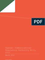 Article 19 Analysis of Uganda Communications Authority Bill