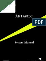 AKTA FPLC System Manual