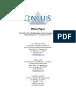 Consultis Whitepaper