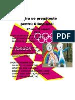 Londra se pregăteşte pentru Olimpiadă