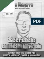SECRETELE CONVORBIRII NONVERBALE