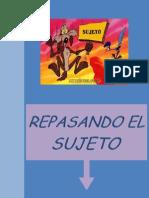 REPASANDO EL SUJETO