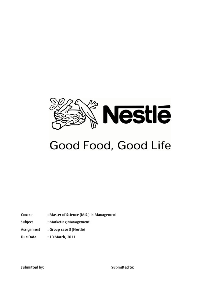 a case study of decision making system in nestle Our case studies, case study to case studies in that they may either describe a sequence of events or put forth an issue or problem that requires decision making.