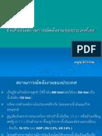 แนวทางออกแผนพลังงานประเทศไทย