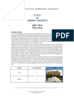 Quarrying in Cement Industry