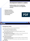 Competency Development Guide for Leaders