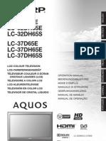 SHARP AQUOS LC-32D/LC-37D Manual
