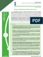 China's Economic Rebalancing Challenge