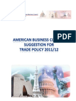 ABC Suggestions Trade Policy 2011 12.Docx
