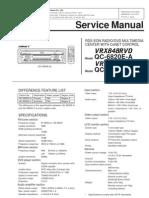 Clarion VRX848RVD VRX746VD Service Manual