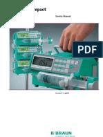 B.braun Perfusor Compact - Service Manual