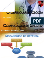 Complicaciones Sinusitis Ppt Aviles