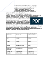 Determinacion Del PH de Distintas Sustancias