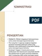 SOSPOL 3 Ilmu Administrasi