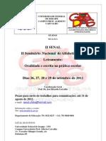 Evento SENAL 2012 PDF