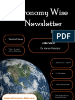 Astronomy Wise May Newsletter 2012
