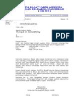 Surat Ke Walikota Audiensi