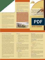 FDP on Research Methods Brochure
