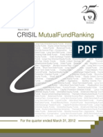 CRISIL Mf Ranking Booklet Mar 2012