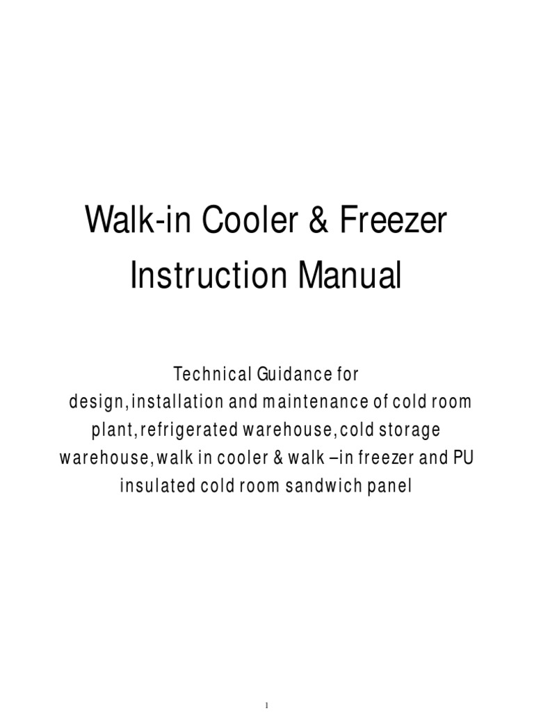 walk in cooler zer cold room plant refrigerated cold walk in cooler zer cold room plant refrigerated cold storage warehouse instruction manual refrigerator refrigeration