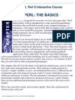Waite Group - Perl 5 Interactive Course