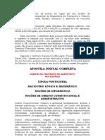 APOSTILA CONCURSO CETTRANS CASCAVEL AGENTE DE PROTEÇÃO EM AEROPORTO - DIGITAL