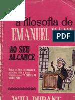 Durant, Will - A Filosofia de Emanuel Kant Ao Seu Alcance