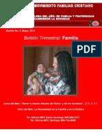 Boletín Movimiento Familiar Cristiano (MFC) República Dominicana. No. 3
