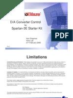 s3esk Picoblaze Dac Control