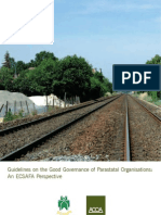 Guidelines on the Good Governance of Parastatal Organisations