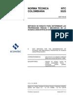 NTC 5525_Propiedades Físico-Mecánicas Bambú
