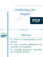 Oyster Learning Presentation Live Project