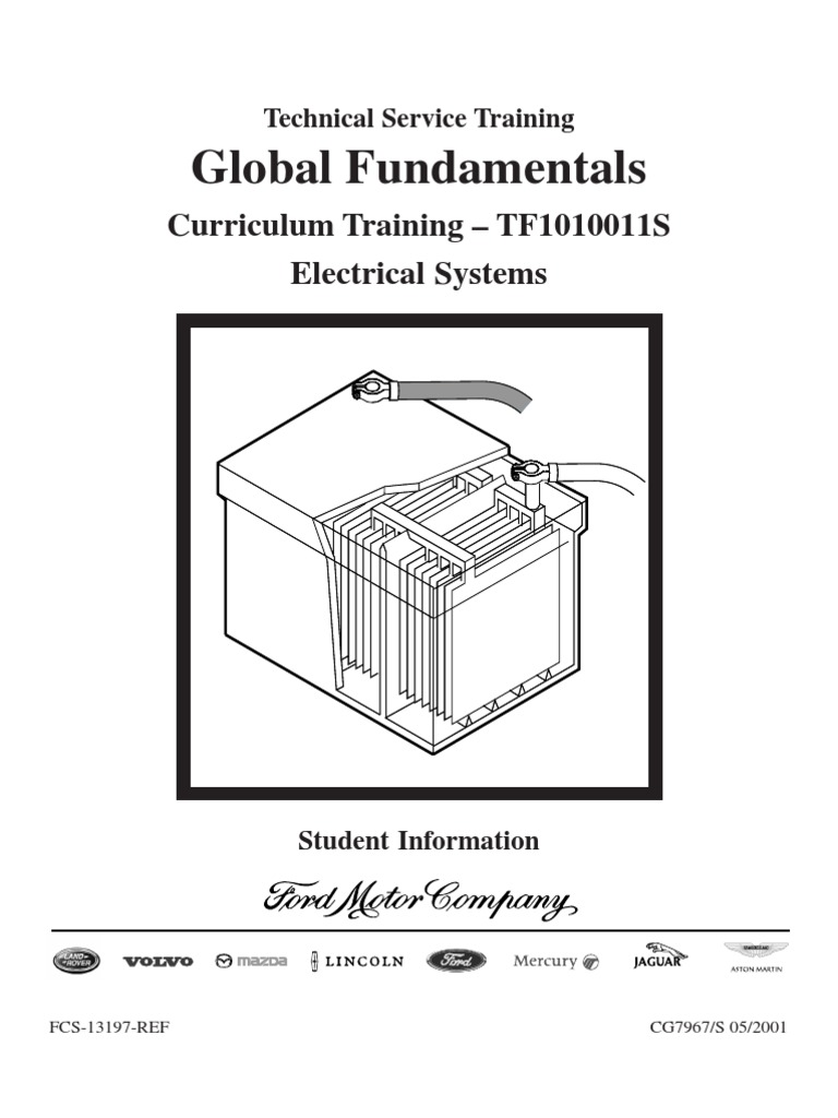 Ford Motor Company Automotive Systems Training Electrical Surge Voltage Wiring Along With Transistor Ignition System Series And Parallel Circuits Electric Current