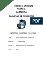 Informe #2 Inspeccion Sensorial de Mariscos